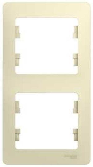 Рамка Schneider electric Glossa 275180