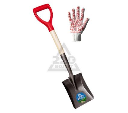 Купить Лопата ЗЕМЛЕРОЙКА 0118-ЧР + перчатки DOLONI 622, лопаты