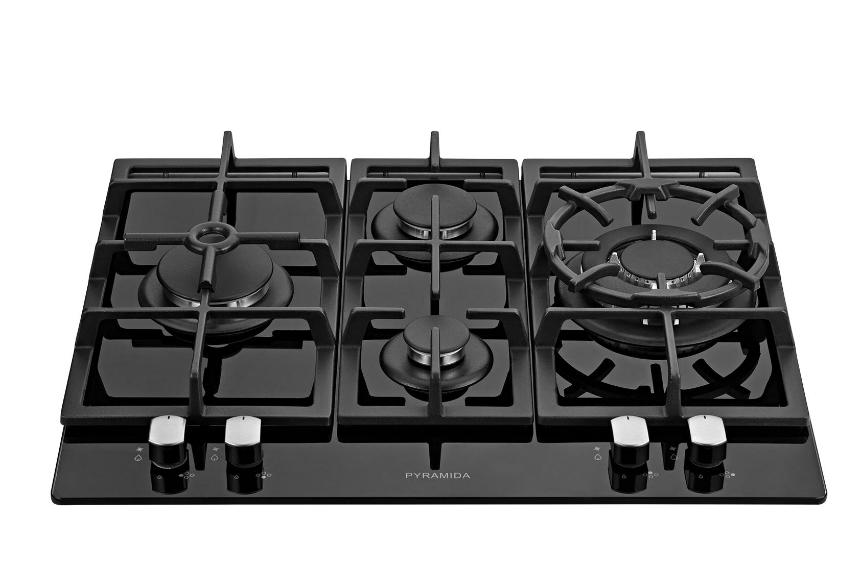 Панель варочная Pyramida Pfg 640 black luxe