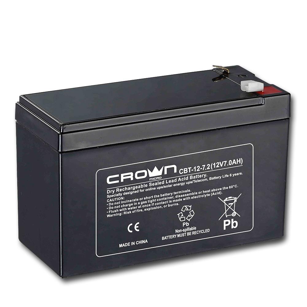 Аккумулятор для ИБП Crown Cbt-12-7.2