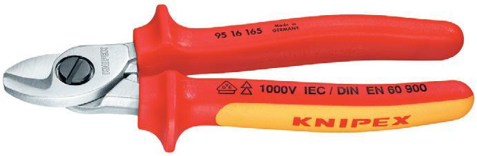 Кабелерез Knipex Kn-9516165t  кабелерез knipex kn 9531250