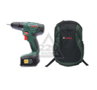 Набор BOSCH Дрель-шуруповерт PSR 1800 LI-2 + рюкзак Green (1619G45200)