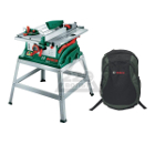 Набор BOSCH Станок циркулярный PTS 10 (0 603 B03 400) + рюкзак Green (1619G45200)