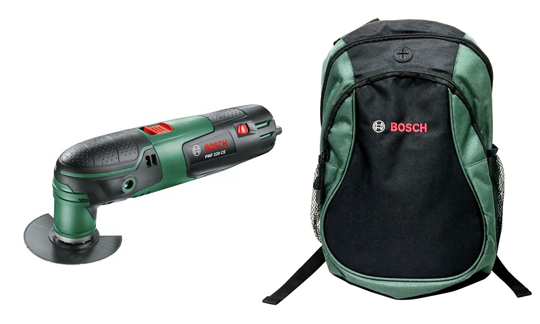 Набор Bosch Инструмент многофункц. pmf 220 ce + рюкзак green (1619g45200)