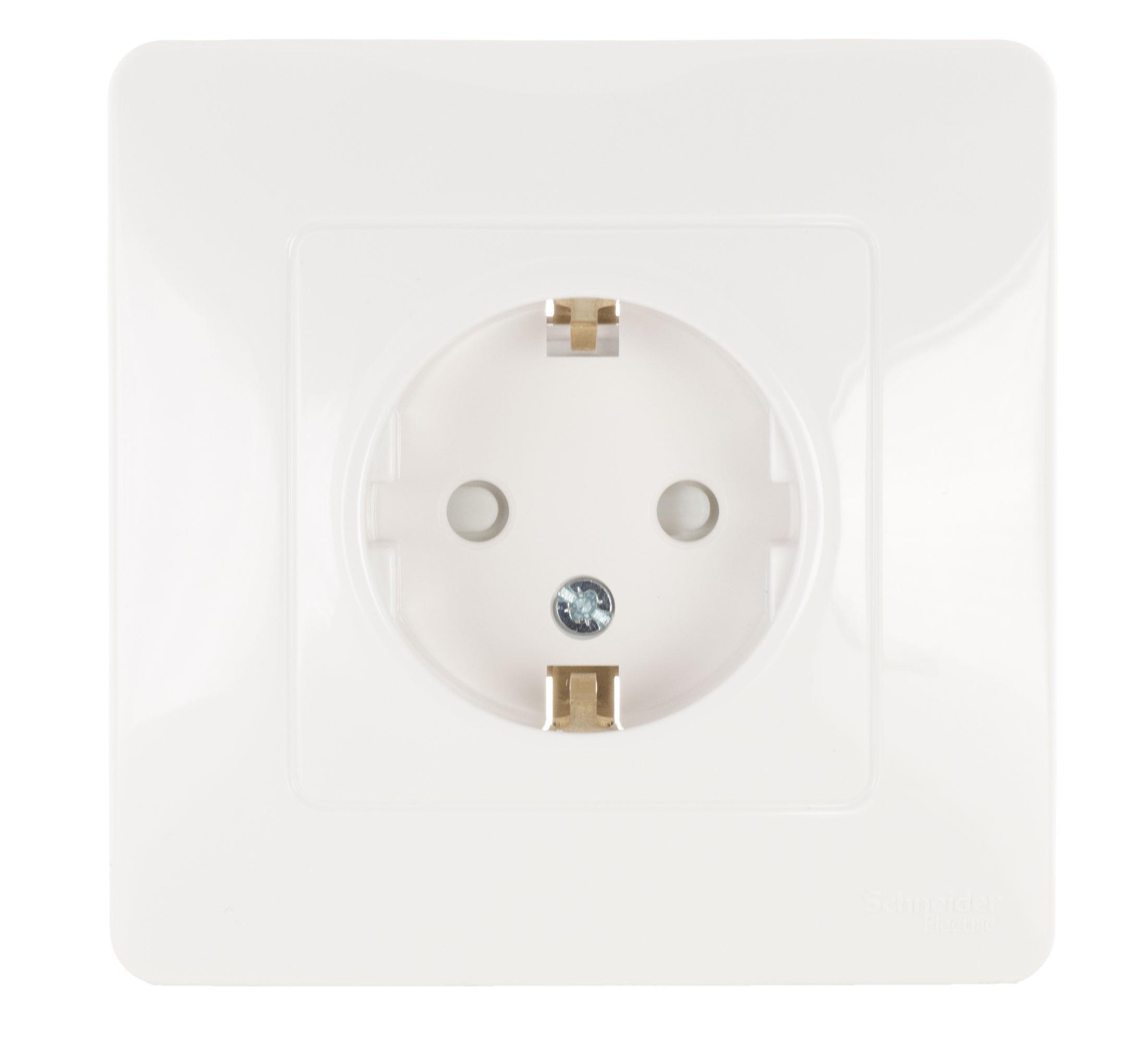 Розетка Schneider electric Blnrs001112 blanca