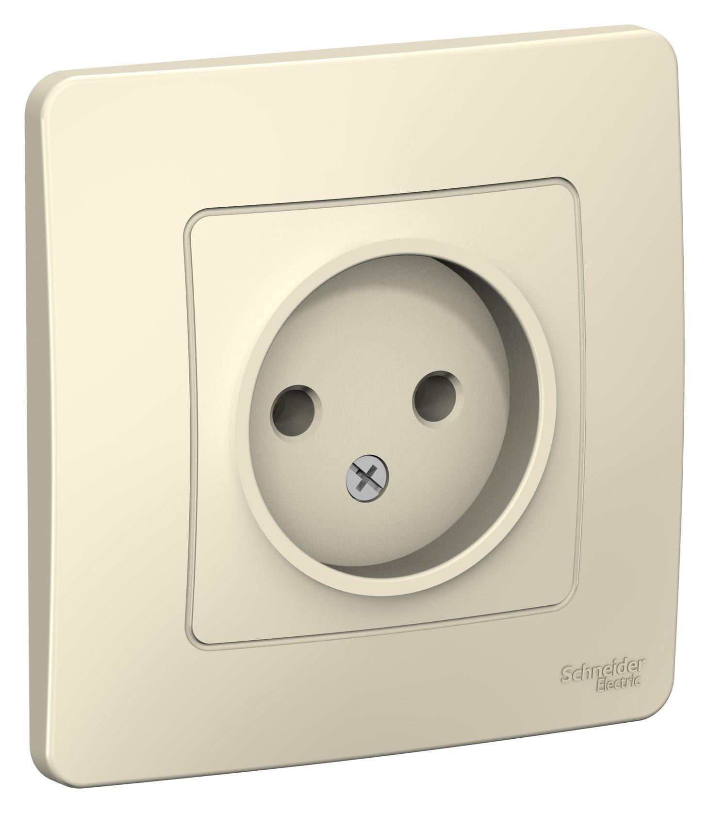 Розетка Schneider electric Blnrs000012 blanca