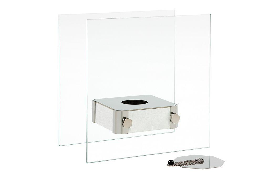 Биокамин Silver smith Mini iii premium белый