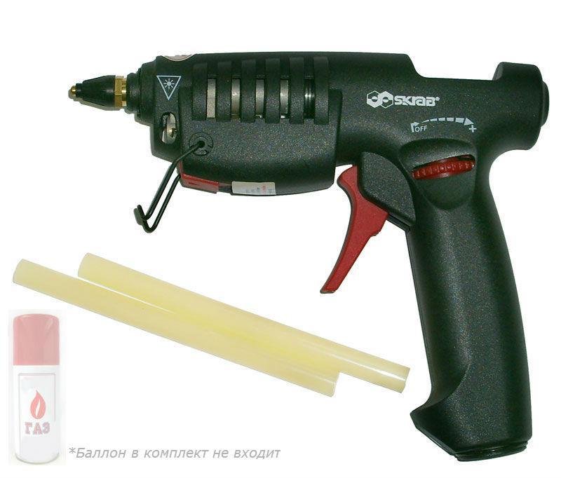Пистолет клеевой Skrab Hg872a