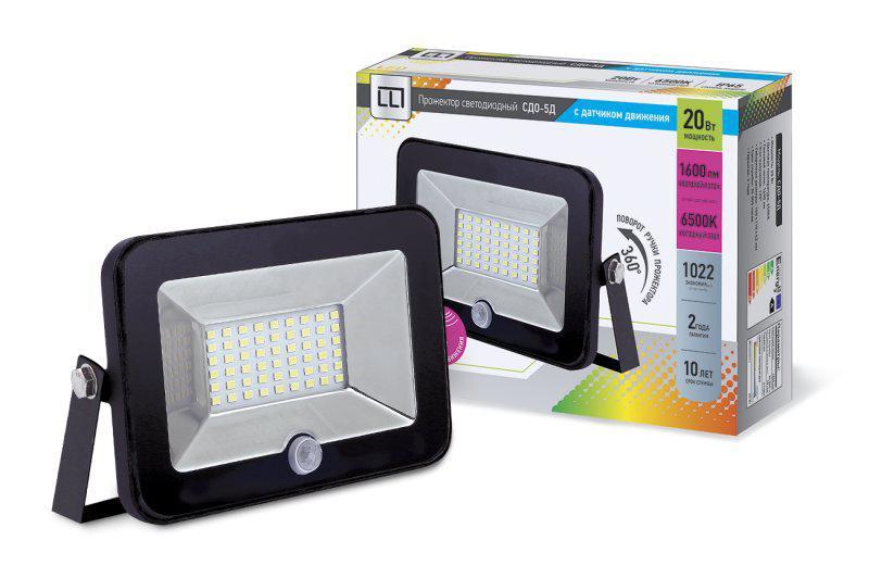 Прожектор Llt СДО-5Д-20 4690612006550