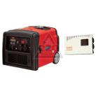 Инверторный бензиновый генератор FUBAG TI 3200 + Стабилизатор напряжения УДАРНИК УСН 2000 НС