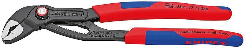 Ключ трубный переставной Knipex Kn-8722250 трубный ключ knipex kn 8330020