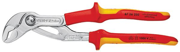 Ключ трубный переставной Knipex Kn-8726250  knipex kn 8310015 трубный ключ 90°
