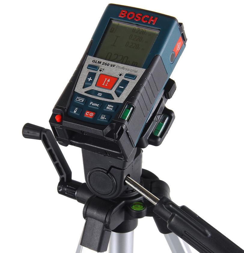 Дальномер Bosch Glm 250 vf + ШТАТИВ (0.615.994.02j)
