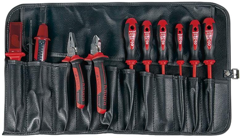 Набор инструментов для электрика, 10 предметов Haupa 220014
