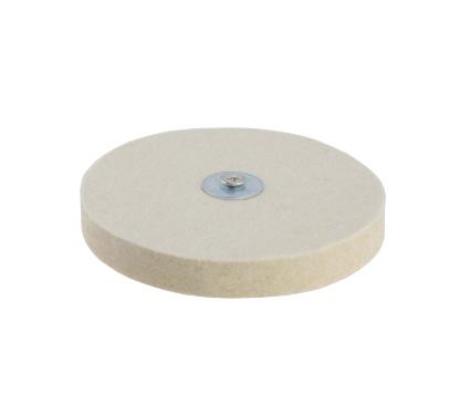 Купить Круг полировальный HAMMER 227-021 PD d6 FL 125 16 мм, оснастка для полирования