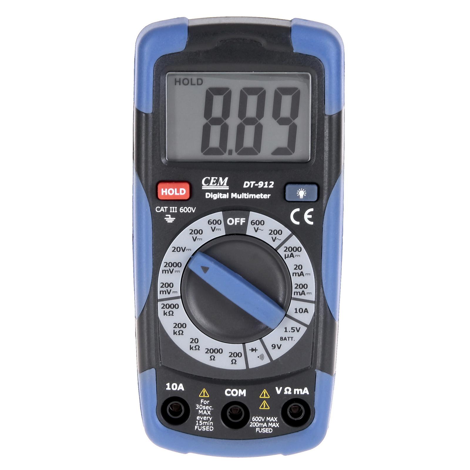Мультиметр цифровой Cem Dt-912 цифровой