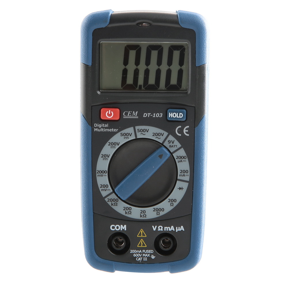 Мультиметр цифровой Cem Dt-103 цифровой