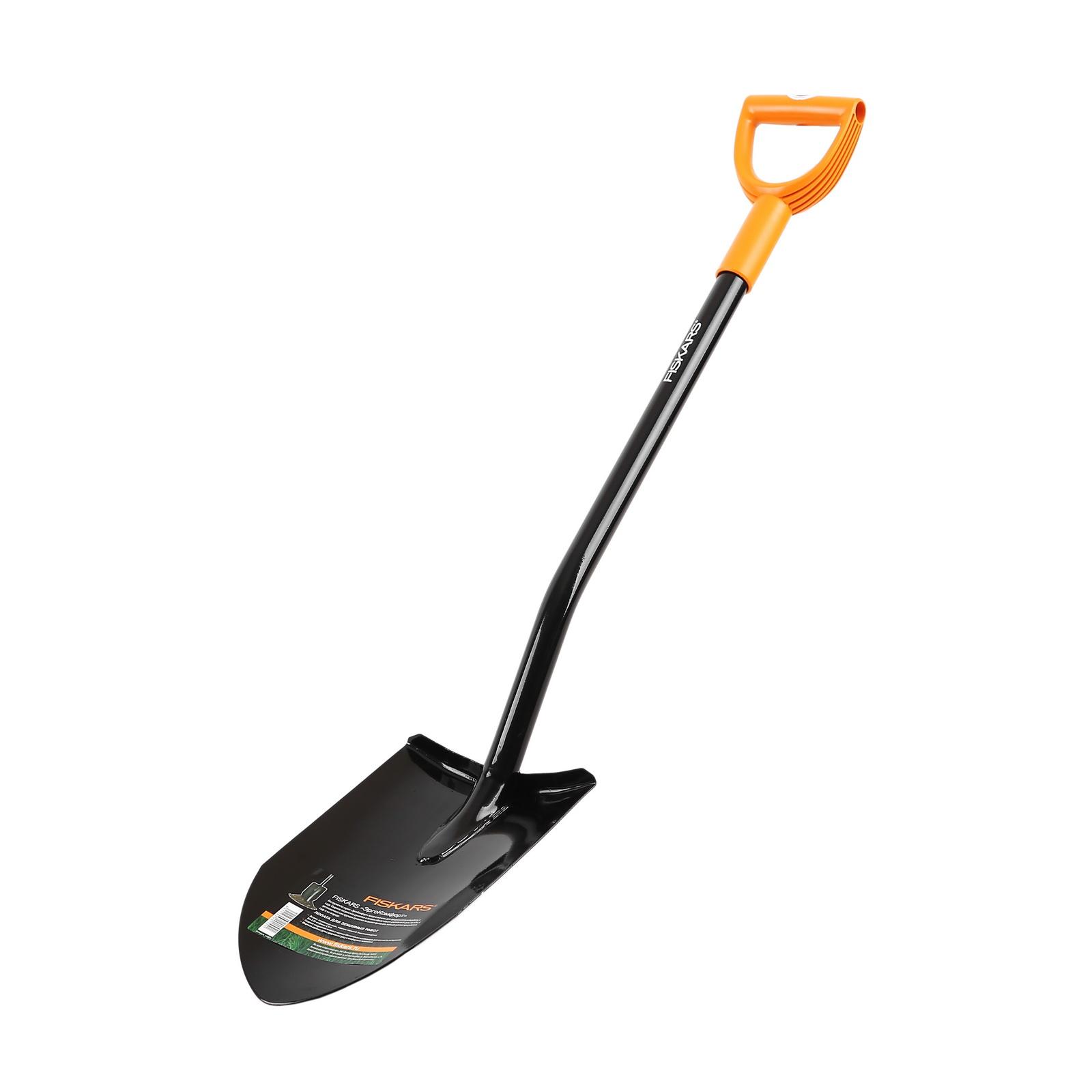 Лопата Fiskars 131921 для земляных работ детская садовая штыковая лопата brigadier 88007