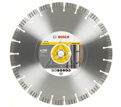 Круг алмазный BOSCH Best for Universal and Metal  450 Х 25.4 сегмент