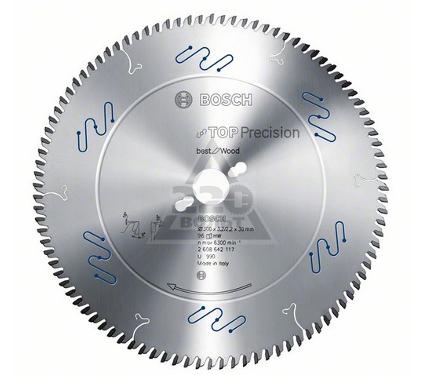 Диск пильный твердосплавный BOSCH Top Precision Best for Wood  250 X 60 X 30