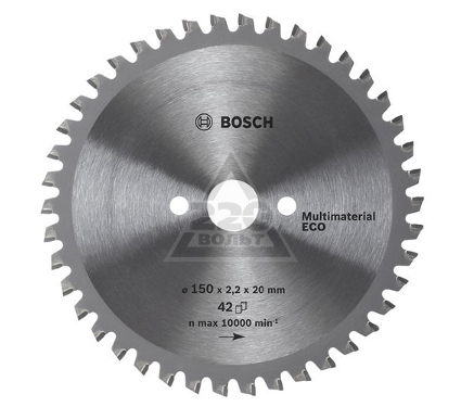 Диск пильный твердосплавный BOSCH Multi ECO 230 X 64 X 30