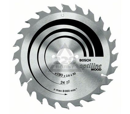 Диск пильный твердосплавный BOSCH Optiline Wood 230x24x30 (2.608.640.627)
