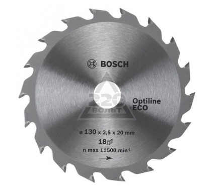 Диск пильный твердосплавный BOSCH Optiline ECO 190x24x20/16 (2.608.641.787)