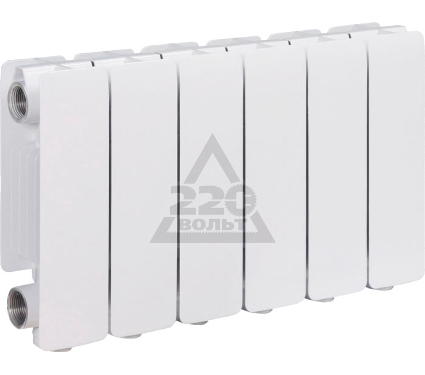 Алюминиевый радиатор ELSOTHERM JET 200/80, 10 секций