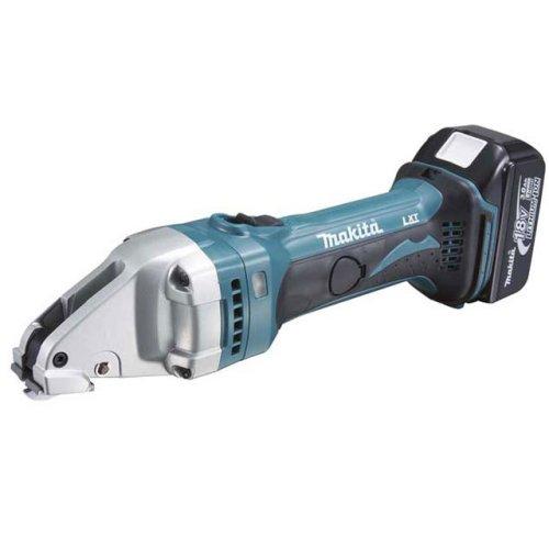 Аккумуляторные шлицевые ножницы по металлу Makita Bjs161rfe аккумуляторные