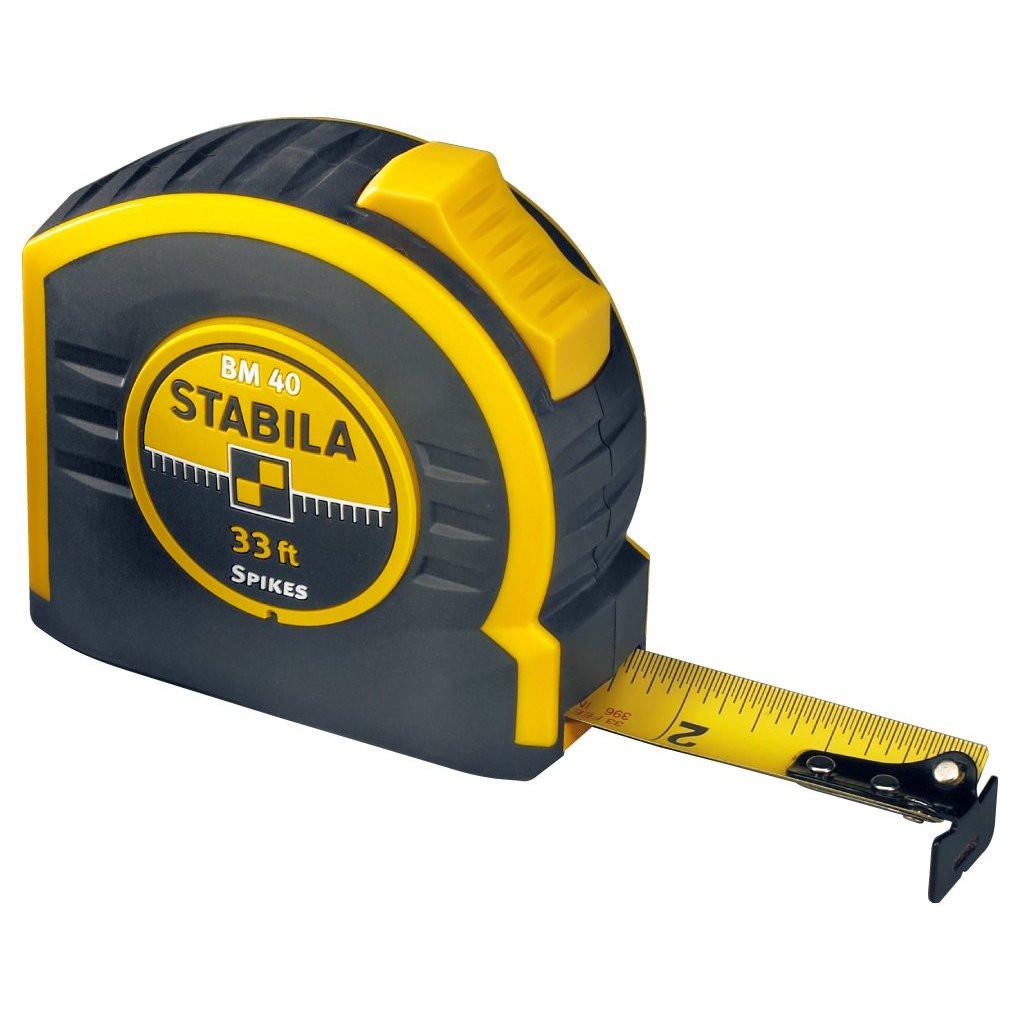 Рулетка Stabila Bm 40  10м x 27мм  рулетка stabila bm40 5 м х 19мм 17740