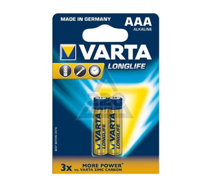 Батарейка VARTA LONGLIFE 4103101412 2шт