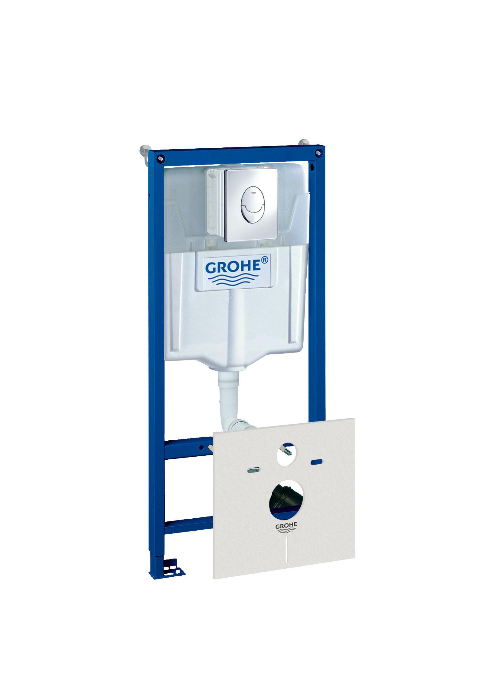 Инсталляция для унитаза Grohe Rapid sl 4 в 1 38750001  инсталляция 4в1 grohe rapid sl 38750001 для подвесного унитаза