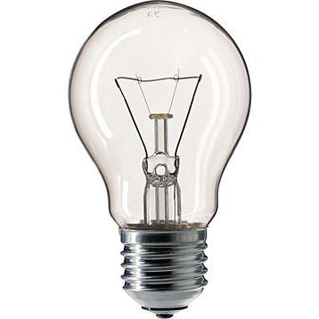 Лампа накаливания Philips A55  60w e27 cl