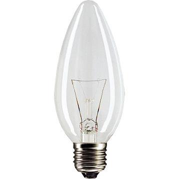 Лампа накаливания Philips B35  60w e27 cl