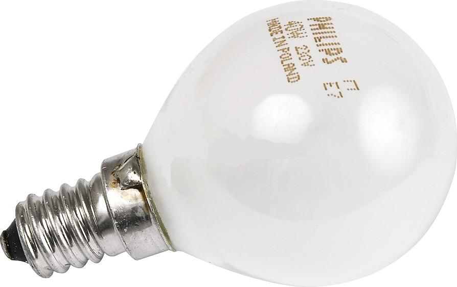 Лампа накаливания Philips P45  40w e14 fr