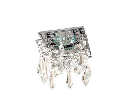 Светильник встраиваемый АКЦЕНТ Crystal 812 хром/прозрачный