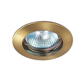 Светильник встраиваемый АКЦЕНТ 11151ab античная бронза