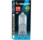 Лампа галогенная АКЦЕНТ JCD 230В  40W G9 FR капсульная матовая