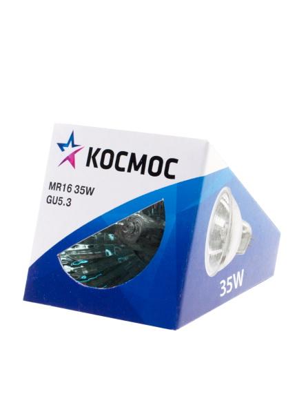 Лампа галогенная КОСМОС 12В/35Вт gu5.3