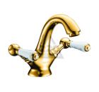 Смеситель для раковины золото EDELFORM Lumier LM2800G