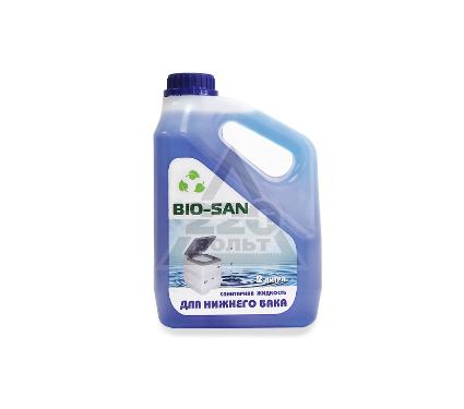 Жидкость BIO-SAN санитарно-дезодорирующее средство для нижнего бака