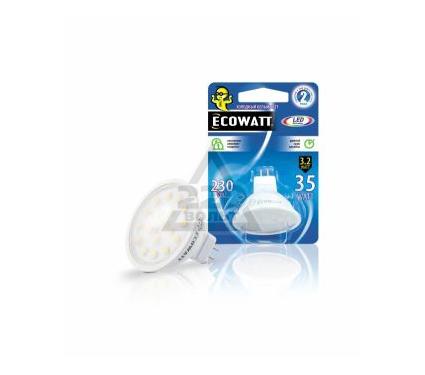 Купить Лампа светодиодная ECOWATT MR16 230В 3.2(35)W, лампы