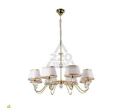 Люстра ARTE LAMP WHITE HALL A4021LM-8GO