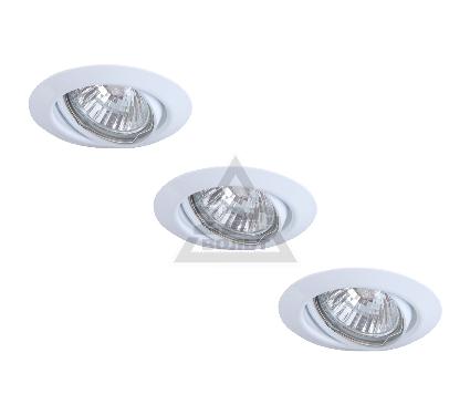 Светильник встраиваемый ARTE LAMP PRAKTISCH A1213PL-3WH