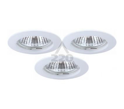 Светильник встраиваемый ARTE LAMP BASIC A2103PL-3WH