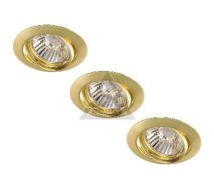 Светильник встраиваемый ARTE LAMP BASIC A2105PL-3GO