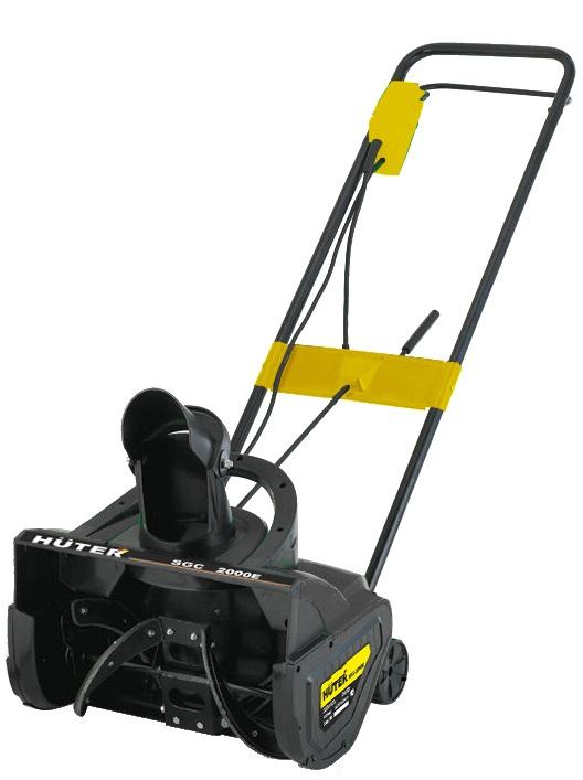 Электрический снегоотбрасыватель Huter Sgc 2000e