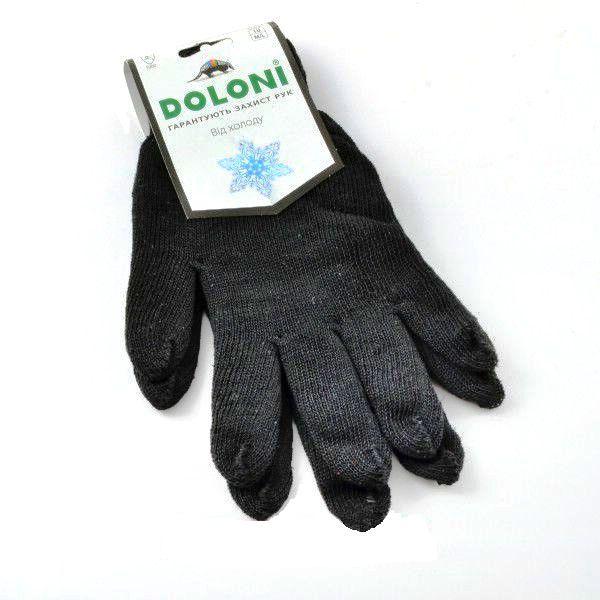 Перчатки трикотажные Doloni 540  без ПВХ двойные