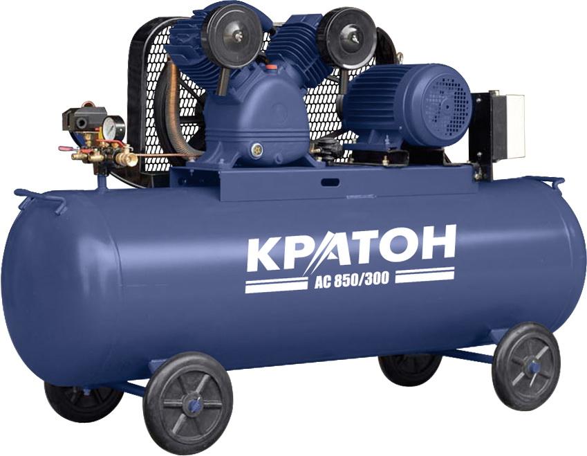 Компрессор поршневой КРАТОН Ac 850/300 от 220 Вольт