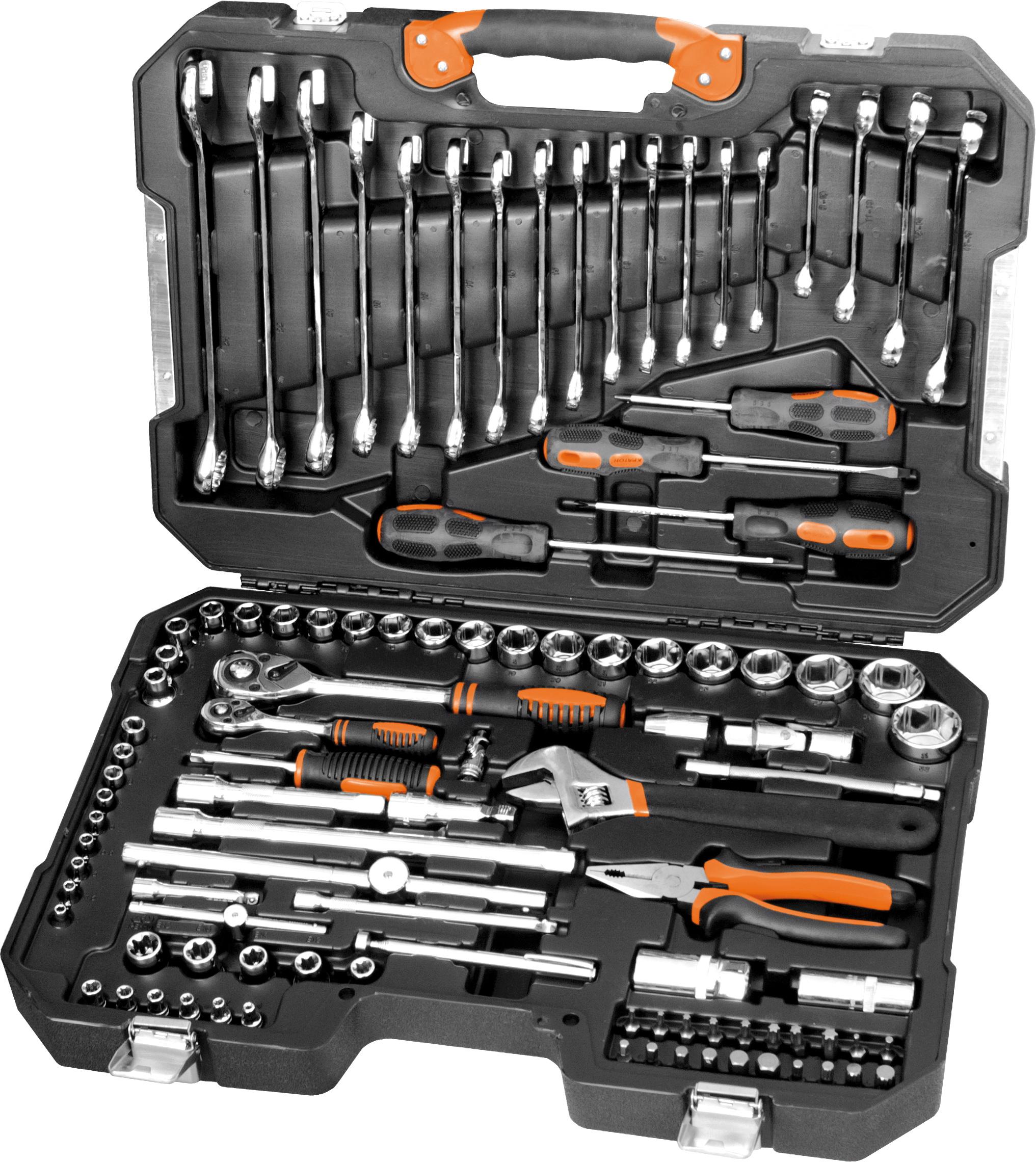 Набор инструментов в чемодане, 101 предмет КРАТОН Ts-28